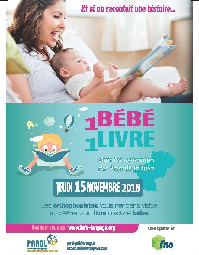 1 Bebe 1 Livre Parol Pdl Prevention Et Actions
